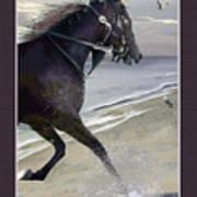 Runner Three Poster by John Breen