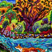 Running River, Running Fox Poster
