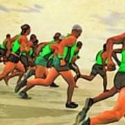 Running Start Poster