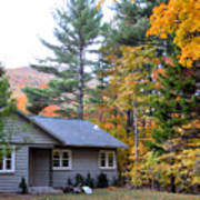 Rural Colorful Autumn Landscape 3 Poster