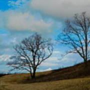 Rural Landscape - Skyline Drive Poster