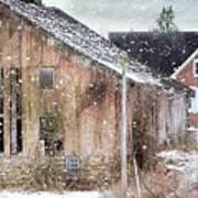Rural Relic Poster by Stephanie Calhoun