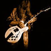 Rush 77 #15 Enhanced In Amber Poster