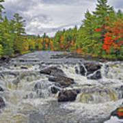 Rushing Towards Fall Poster