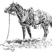 Russell: Rawlins Horse Poster