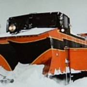 Russell Train Snow Plow Poster