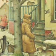 Russian Scene 10 Poster