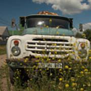 Russian Truck Poster
