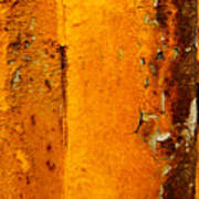 Rust Abstract 2 Poster