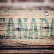 Rustic Canada Poster