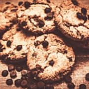 Rustic Kitchen Cookie Art Poster