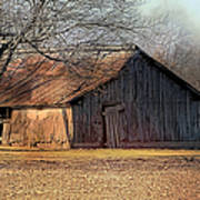 Rustic Midwest Barn Poster