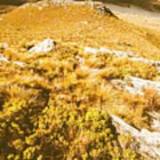 Rustic Mountain Terrain Poster