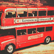 Rustic Routemaster Poster