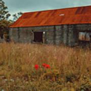 Rusty Barn Poster