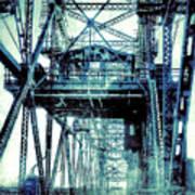 Rusty Bridge Poster