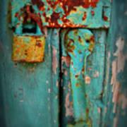 Rusty Lock Poster