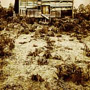 Rusty Rural Ramshackle Poster