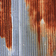 Rusty Siding Poster
