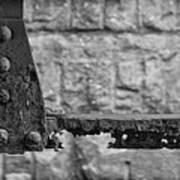 Rusty Steel Bridge Poster
