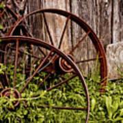Rusty Wheels Poster