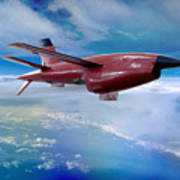 Ryan Bqm-34 Firebee Target Drone Missile Poster