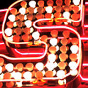 S In Lights Poster