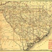 Sc Railroads Poster