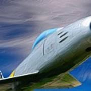 Saber Jet Poster