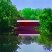 Sachs Covered Bridge - Gettysburg Pa Poster