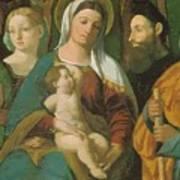 Sacra Conversazione 1520 Poster
