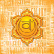 Sacral Chakra - Awareness Poster