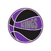 Sacramento Kings Retro Shirt Poster