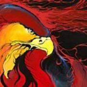 Sacred Eagle Poster