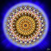 Sacred Geometry 187 Poster