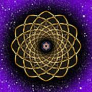 Sacred Geometry 473 Poster