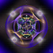 Sacred Geometry 554 Poster