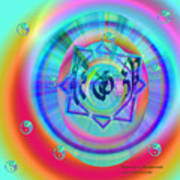 Sacred Healing Rays Of Cho Ku Rei Poster