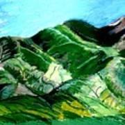 Sacred Mountain Poster