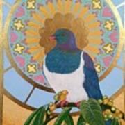 Sacred Wood Pigeon Poster