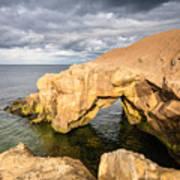 Saddle Rocks At High Tide Poster