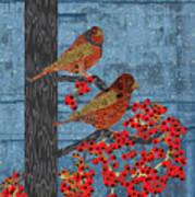 Sagebrush Sparrow Long Poster