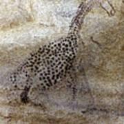 Saharan Rock Painting Poster
