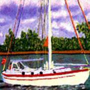 Sail Boat Poster