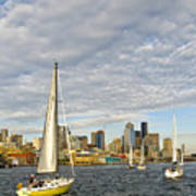 Sail On Seattle Poster