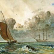 Sail Ships Poster