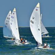 Sailboat Championship Racing 5 Poster