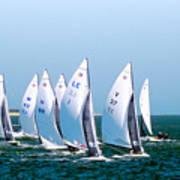 Sailboat Championship Regatta Poster