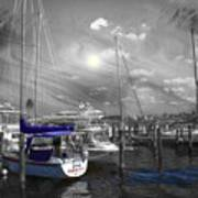 Sailboat Series 14 Poster