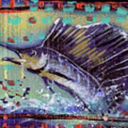 Sailfish Poster by Robert Wolverton Jr